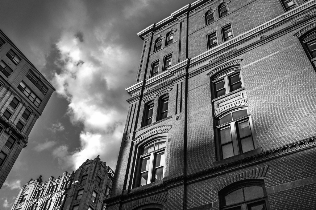 black-and-white-city-house-378